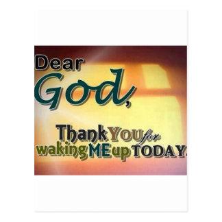 Cher Dieu Carte Postale