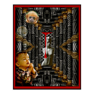 Cher Dieu, j'ai besoin vraiment d'un singe de bébé Posters
