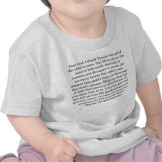 Cher Dieu, je vous remercie du cadeau de ce chil… T-shirt