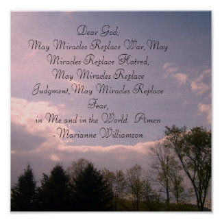 Cher Dieu, miracles de mai remplacent la guerre, p Poster