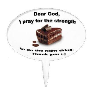 Cher Dieu que je prie pour la sélection de gâteau  Piques À Gâteau