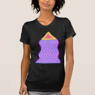 Cher Dieu quelque chose émane de cette triangle T-shirt