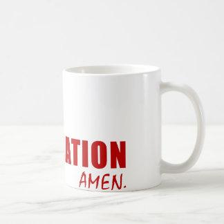 Cher Dieu, un mot. OBTENTION DU DIPLÔME. Amen Tasse
