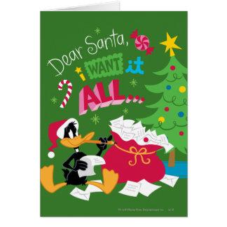 Cher Père Noël Carte De Vœux