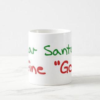 Cher Père Noël, définissent bon Mug