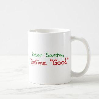 Cher Père Noël, définissent bon Mug À Café