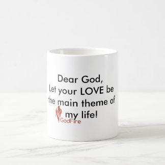 """Chère tasse en céramique """"thème principal """" de"""