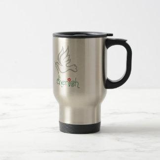 CHERISH DOVE COFFEE MUGS