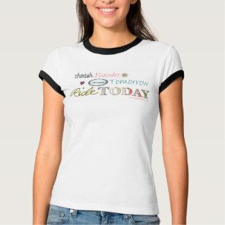 Cherish*Dream*Ride (Tan Ringer T-Shirt) T-Shirt