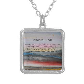 cherish necklace