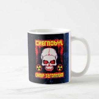 Chernobyl Grunge Radiation Skull Coffee Mug