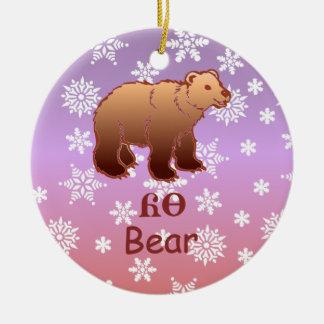 Cherokee Bear Christmas Ornament