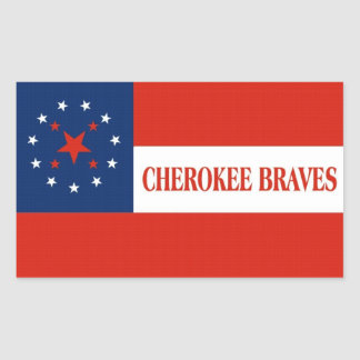 Cherokee Braves Flag, United States