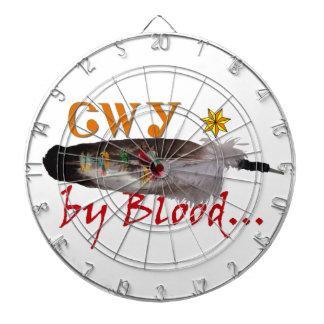 Cherokee by Blood Dartboard