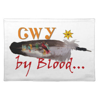 Cherokee by Blood Placemat