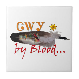 Cherokee by Blood Tile