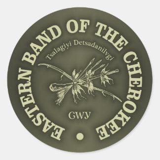 Cherokee (Eastern Band) Round Sticker