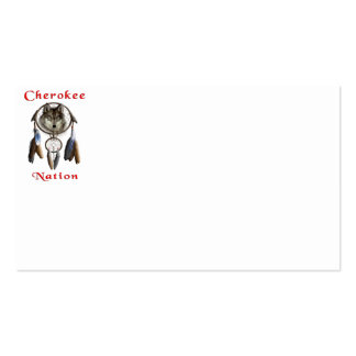 Cherokee Nation  clothing Business Card