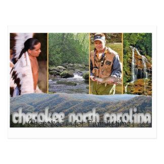 Cherokee NC PostCard