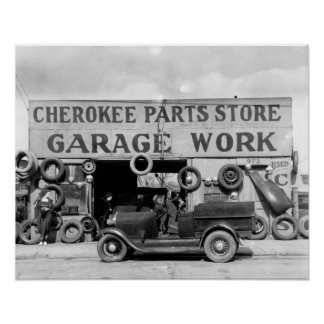 Cherokee Parts Store, 1936 Posters