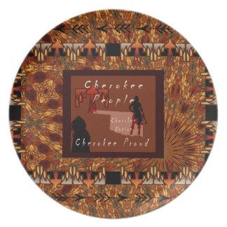 Cherokee People Plate