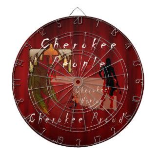 cherokee proud dartboard with darts
