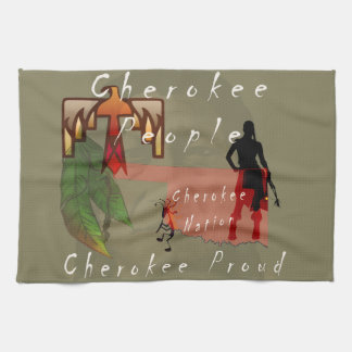 cherokee proud kitchen towel
