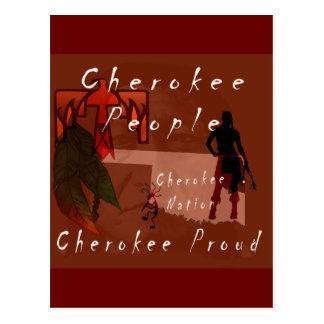 cherokee proud postcard