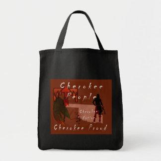 cherokee proud tote bag