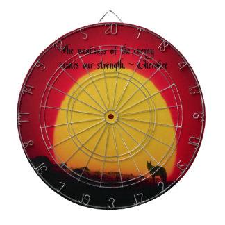 Cherokee Proverb Dart Boards