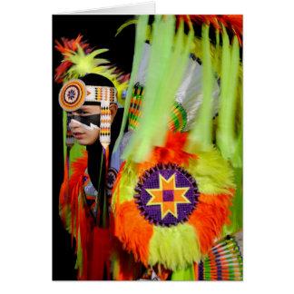 Cherokee Sun Dancer Card