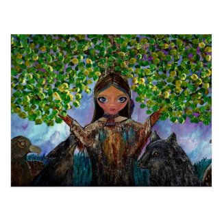 Cherokee Tree Postcard
