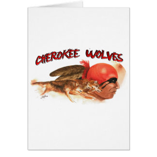 Cherokee Wolves Card