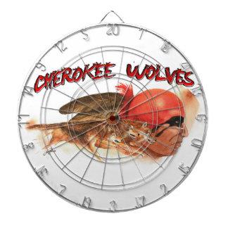 Cherokee Wolves Dartboard