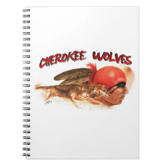 Cherokee Wolves Notebook