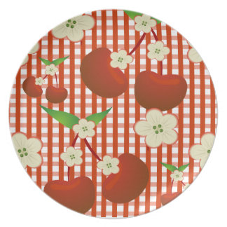 Cherries and Checkers Plate