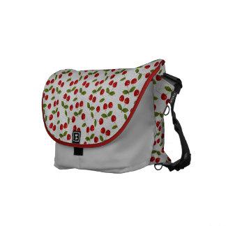 cherries commuter bag