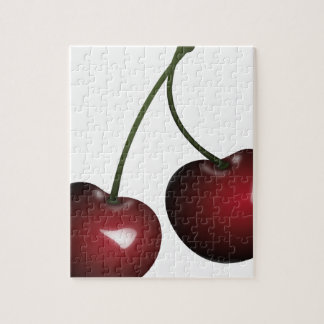 Cherries Drawing Jigsaw Puzzle