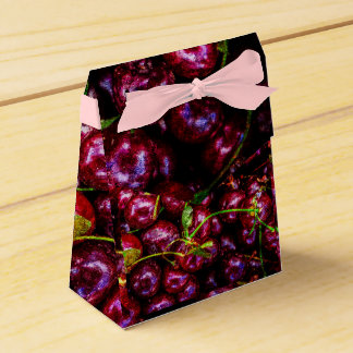 Cherries Favor Box