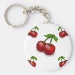 Cherries Galore Design Key Chain