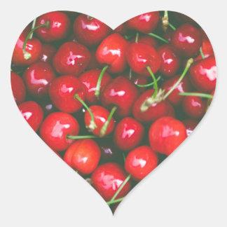 Cherries... Heart Sticker