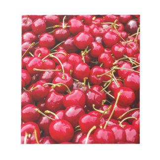 Cherries Notepad