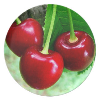 Cherries Party Plates