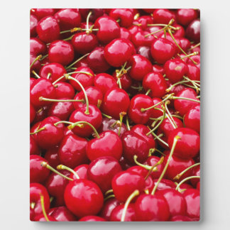 Cherries Plaque