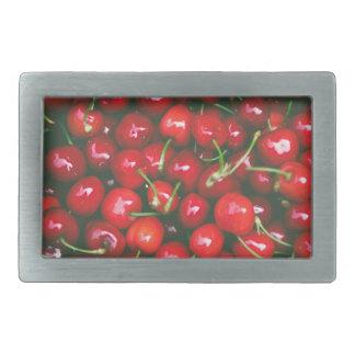 Cherries... Rectangular Belt Buckle