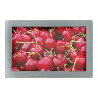 Cherries Rectangular Belt Buckles