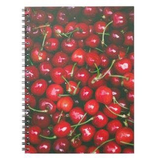 Cherries... Spiral Notebook