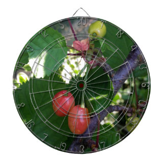 Cherries turning red dartboard