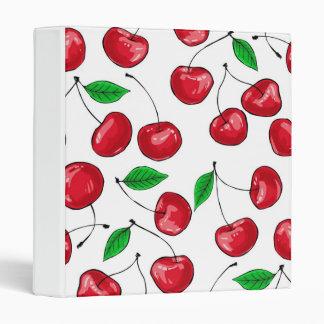 Cherries Vinyl Binders
