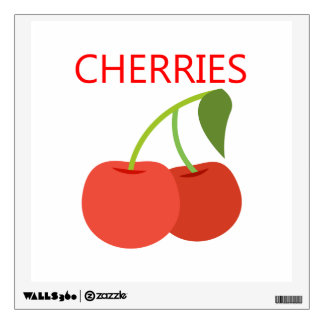 Cherries Wall Decal